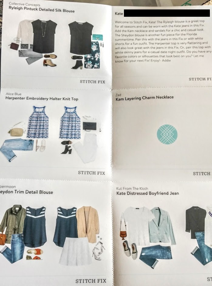 Stitch Fix July Box How To Guide Cut Out
